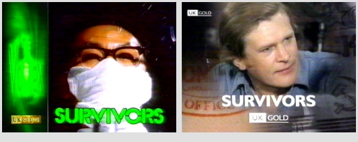 Terry Nation's Survivors - on satellite and cable TV in the 1990s