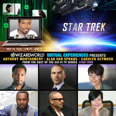 Carolyn Seymour join online Star Trek Q&A session, 15 July 2020
