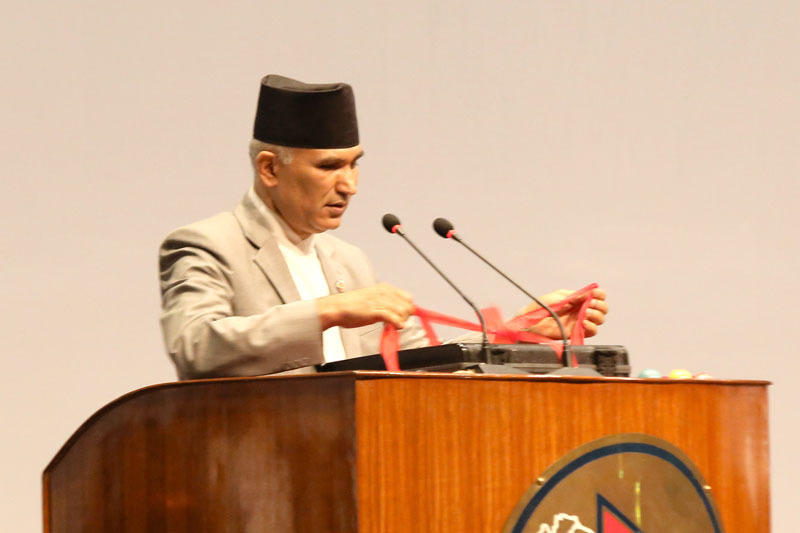Govt launching development in full swing: Gen Secy Poudel