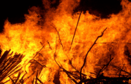 Khotang fire destroys seven houses