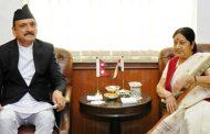 परराष्ट्रमन्त्री महत भारतले गौतम मारेकोमा चिन्ता नलिएकोमा भारतीय बिदेशमन्त्री स्वराजसंग आक्रमक