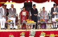 प्रधानमन्त्री देउवा, तीन उपप्रधानमन्त्री सहित ८ मन्त्रीद्वारा राष्ट्रपति बिद्यादेवी भण्डारीसंग सपथ