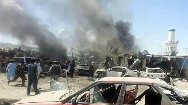 काबुलमा यस वर्षकै ठूलो हमला, एम्बुलेन्स बम विस्फोट हुँदा ९५ को मृत्यु १५८ जना घाइते