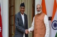 नेपाल भारतबीच ८ वटा सम्झौता पत्रमा हस्ताक्षर