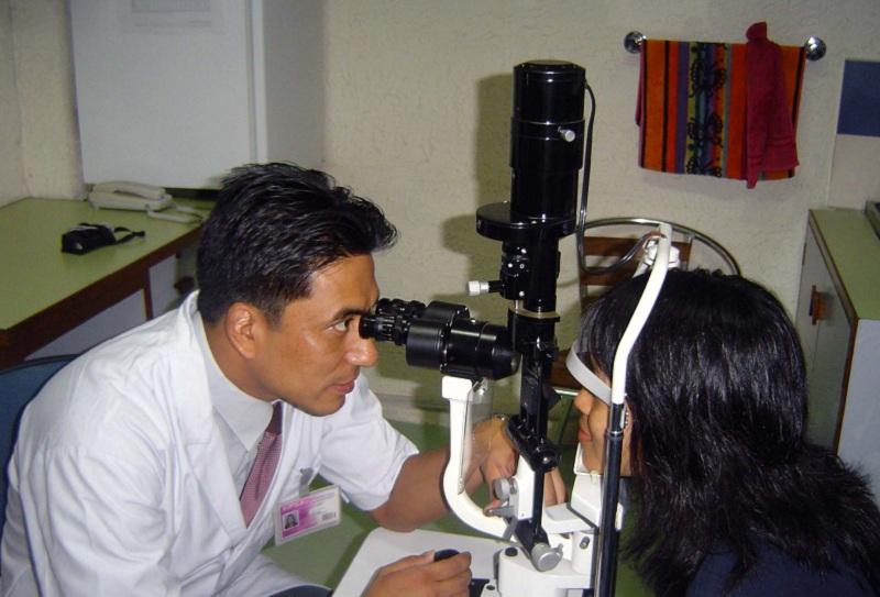Free eye camp benefits locals in Nuwakot