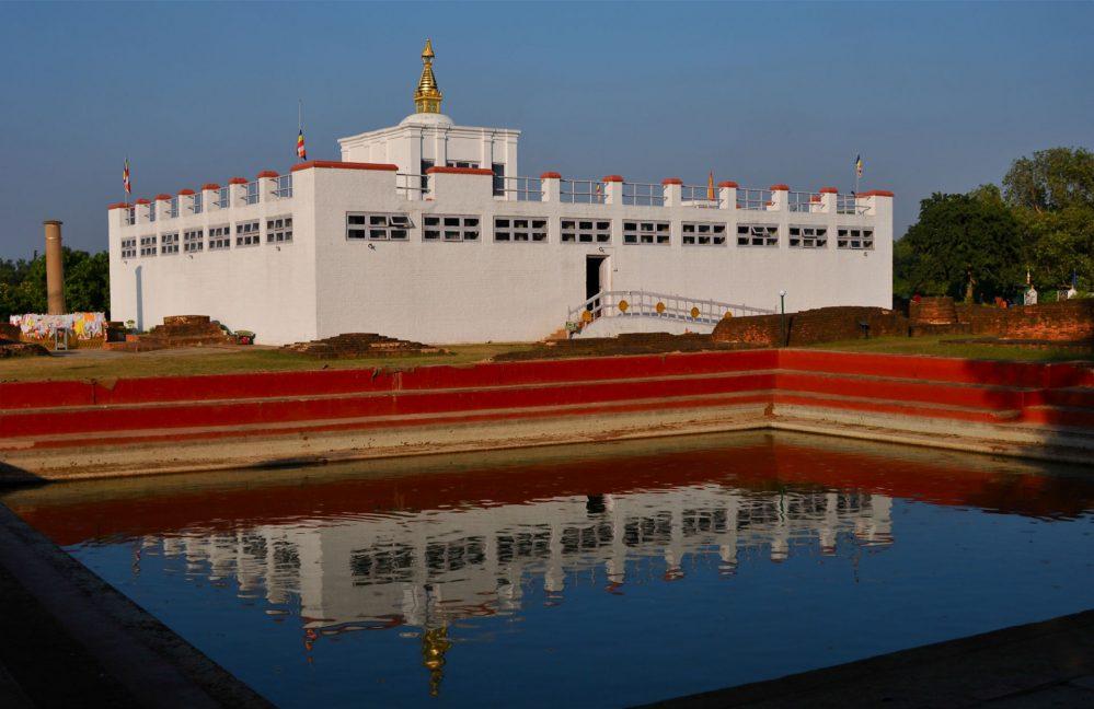लुम्बिनीमा 'त्रिपिटक' वाचनको तयारी
