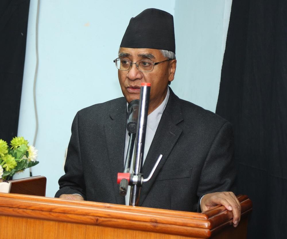 Non violent movement durable: NC President Deuba