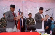 Chief Minister, Minister and Speaker of province no 4 sworn-in