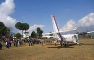 बलेवा विमानस्थलमा परीक्षण उडान पहिलो पटक परीक्षण