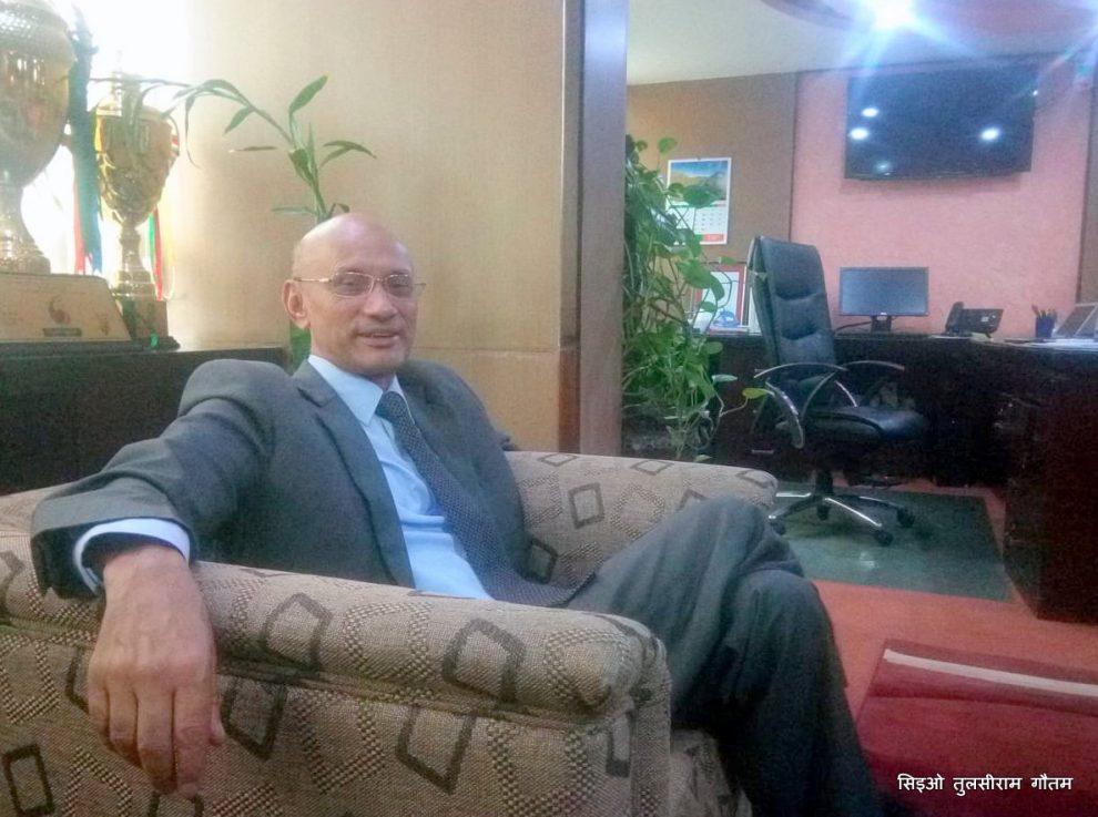 समग्र बैंकिङ क्षेत्र भद्रगोल छ भन्नु गलत हो:  प्रमुख कार्यकारी अधिकृत, तुलसीराम गौतम, सेन्चुरी बैंक  (कुराकानी)