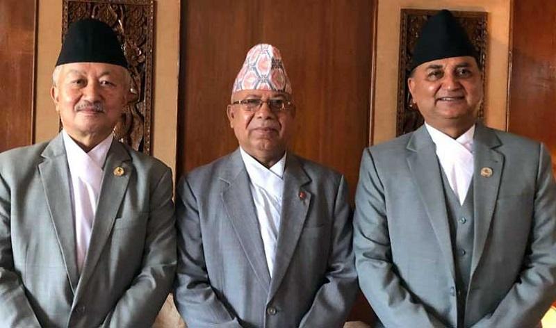 प्रधानमन्त्रीले तोके तीन नेतालई कार्यबाहक, सबै पूर्ब एमाले, पूर्ब माओबादी नेता रुष्ट