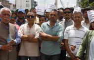 अनसनरत प्रा.डा. गोबिन्द केसीको समर्थनमा काठमाण्डौमा उर्लियो नागरिक समर्थन (तस्विरहरु)