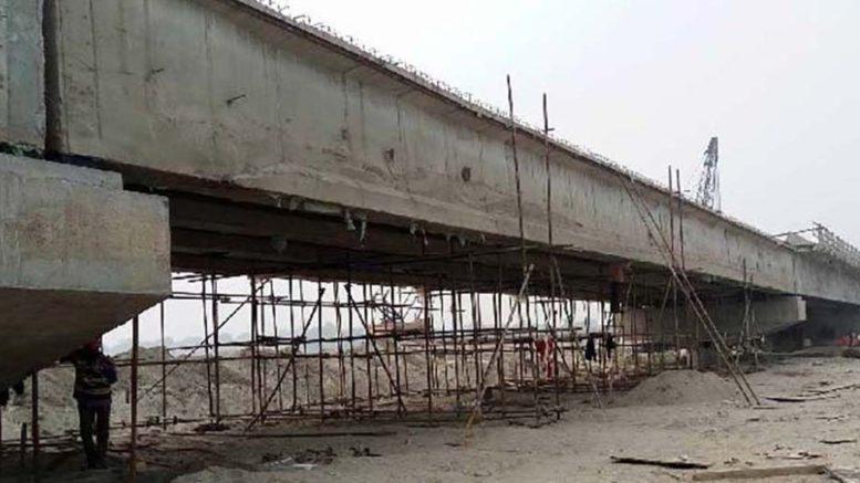 क्षतिग्रस्त नेपाल–चीन जोड्ने भोटेकोशी पुलको निर्माणकार्य शुरु