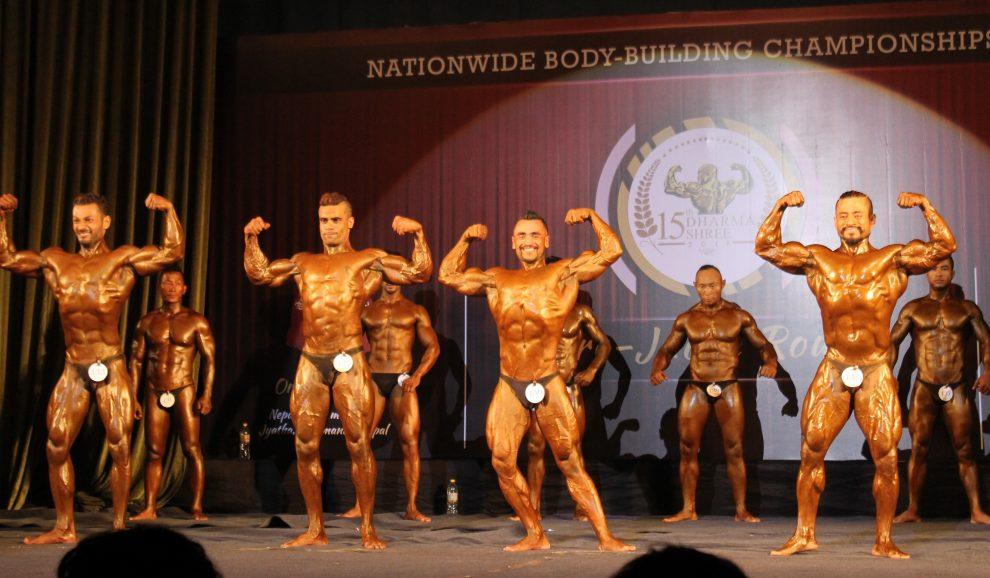 गोल्डमेडलधारी महर्जन छानिए शारीरिक सुगठन प्रतियोगिताको अन्तिम चरणमा