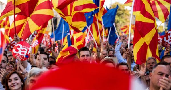 म्यासेडोनियाको नाम परिवर्तन गर्ने पक्षमा जनमत