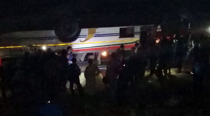 भयानक बस दुर्घटनामा ज्यान गुमाएका १८ जनाको सनाखत (नामावलीसहित)
