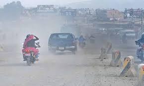 काठमाडौंको धुलोले बालबालिका पनि दमका रोगी