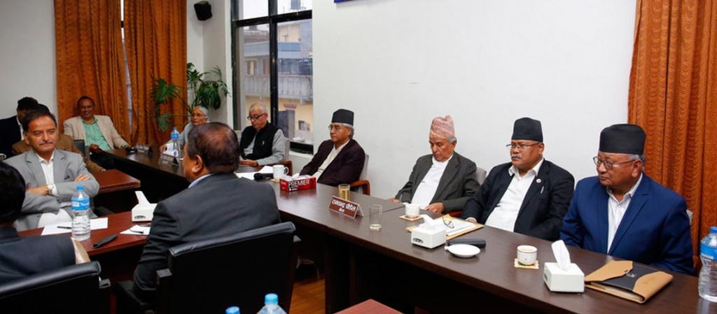 10 leaders speak on party statute at NC CC meet