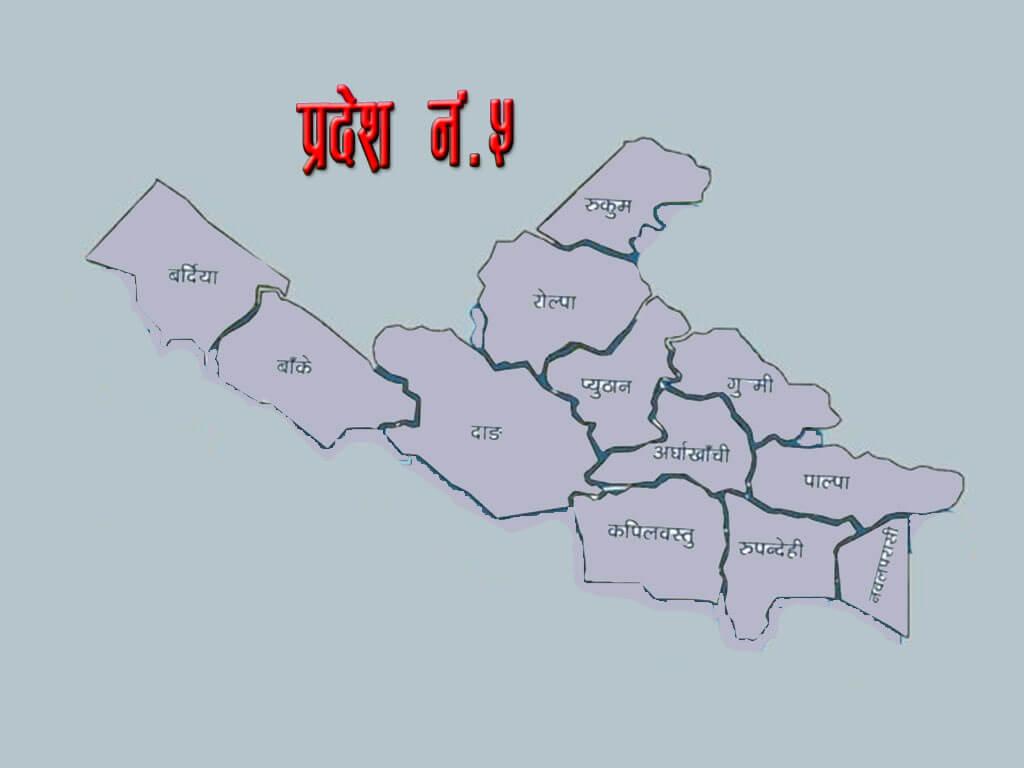 संसदीय मामिला पत्रकार समाज, प्रदेश नं ५ मा घिमिरे