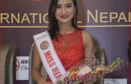 'मिस हेरिटेज ईन्टरनेशनल २०१९'मा अदितीको प्रतिनिधित्व