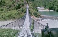 ११३ स्थानमा झोलुङ्गे पुलको निर्माण