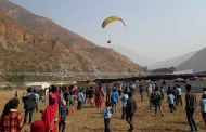गाउँपालिकाद्वारा प्याराग्लाइडिङ परीक्षण उडान
