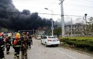 रसायनिक कारखाना विस्फोटमा परी मृत्यु हुनेको सङ्ख्या  ६४ पुग्यो