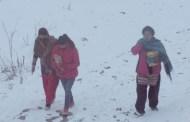 हुम्लामा हिमपात हुँदा एसइई परीक्षार्थीलाई समस्या