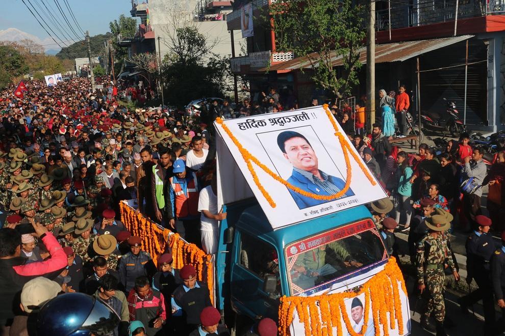 रवीन्द्रलाई काठमाण्डौ र पोखरामा हार्दिक श्रद्धान्जली ! (फोटो फिचर)