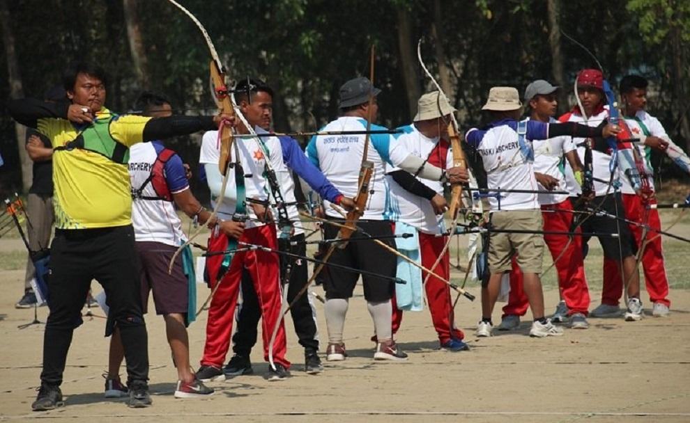 आर्चरी प्रतियोगिताको अशिम र मुकेश फाइनलमा