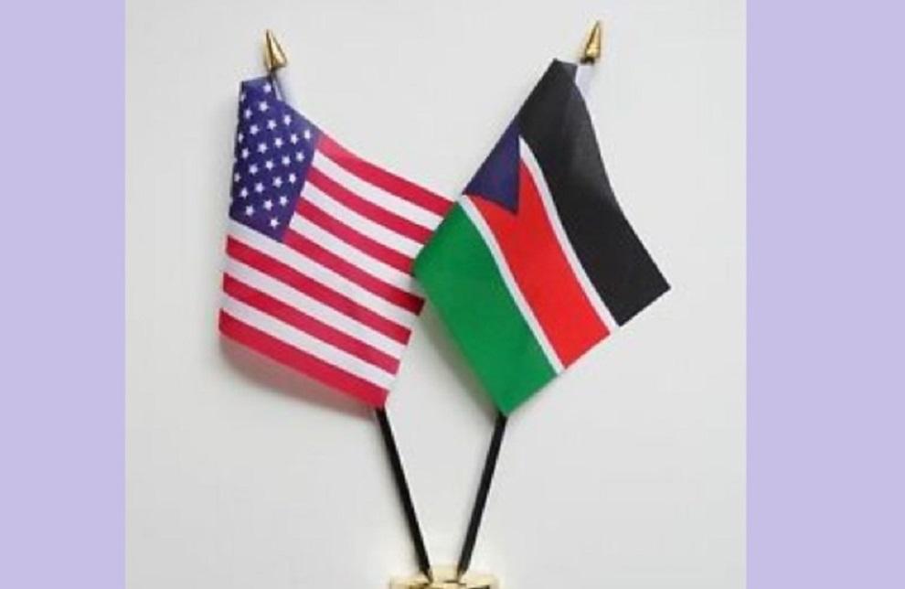 सुडानी सैन्य परिषद्का कार्यवाहक अध्यक्ष र अमेरिकी प्रतिनिधिबीच छलफल