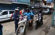 नगर प्रहरीद्वारा दश हजार मोटरसाइकल कारवाहीमा