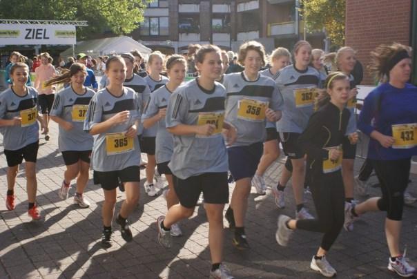 SuS-Laufgruppe in Welver