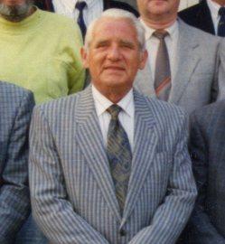Erich Reuther Vorsitzender 1963-1985 und 2. Vorsitzender von 1960 - 1963 und Ehrenvorsitzender von 1987-2005