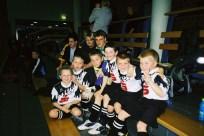 F. Jugend 2002/2003 V.l. Martin Hennemann, Florian Schröder, Gerald Schröder, Michael Wiese,Johannes Lückmann, Dominik Ebel, Chris Altehenger, Nico Gließner, Marvin Körner
