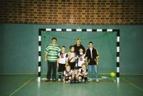 F-Jugend 2002-2003 Gerald Schröder - Florian Schröder - Martin Hennemann, Johannes Lückmann, Dominik Ebel, Chris Altehenger, Marvin Körner, Nico Gließner, Michael Wiese