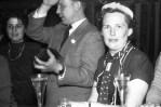 Karneval V.l. Irmi Hansel, Helmut Seithe, Adolfine Foschepoth
