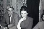 Karneval V.l. Werner Hering und Ehefrau Karola