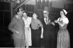 V.l. Franz Sauer, Elisabeth Sauer, Frau Schulte-Pentling, Engelbert Loeser, Maria Loeser