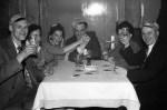 V.l. Willi Wigger, Frau Wigger, Frau Nosal, August Seithe jun. Margret Bettermann, Humpert