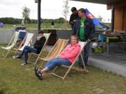 Bequem gehts natürlich auch. C-Jugend SuS/ScS-Saisonabschluß 19.06.2014 in Uentrop