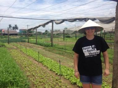 Anja Britten in Hoi An Vietnam am 29.08.2016