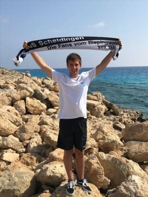 Christian Berenhardt auf Zypern in Ayia Napa am 20.09.2017