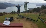 Matthias Struwe in Picton, Neuseeland am 04.10.2016