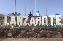 Steffen und Thomas Kree auf Lanzarote am 05.08.2016