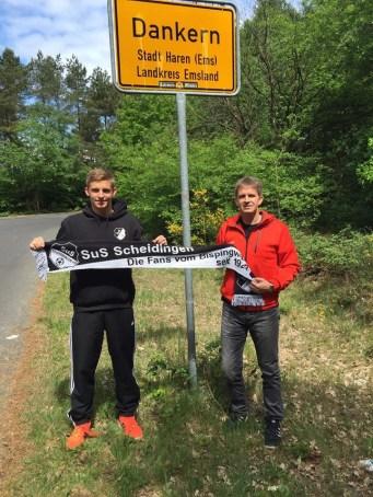 Steffen und Thomas Kree in Dankern 16.05.2016