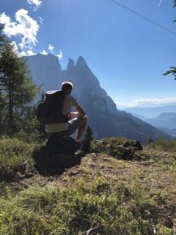 Michel Berz in Bullacia Tirol Italien 09.09.2018