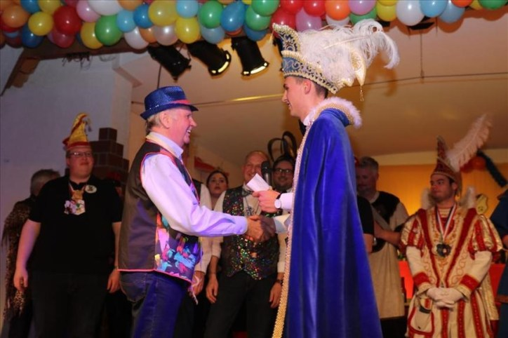 Edmund Becker erhielt einen Orden! 1979 war er Prinz Karneval
