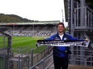 Andreas Straka im Dreisamstadion Freiburg 26.09.2019