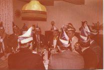 Karneval 1980 Insignienübergabe bei Theo Wiese